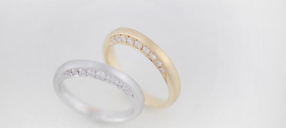 シンコーストゥディオ ISAGI[潔]リング, K18 ダイヤモンド