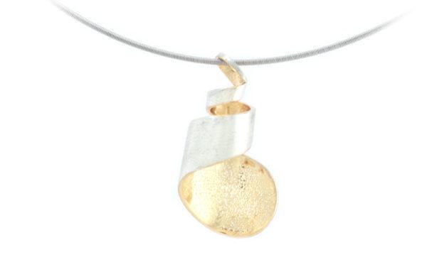 SHINKO STUDIO Tsutsumu[包] silver pendant