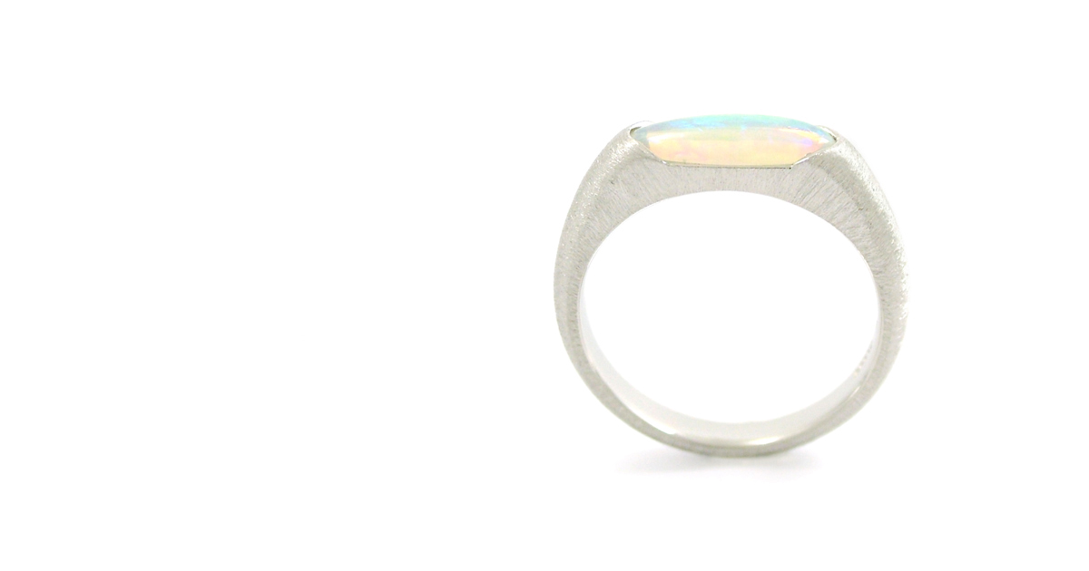 Pt900 Opal Ring shinko Studio
