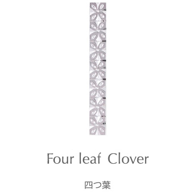 Four leaf Clover, Subaru : 925 Sterling Silver Japanese Engraved Pendant Engraving Patterns