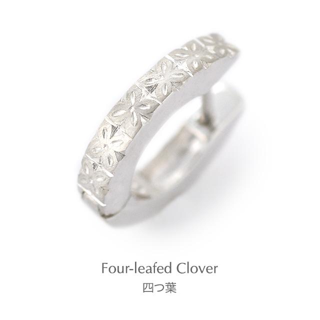 Subaru[昴] - Silver Japanese Engraving Earrings