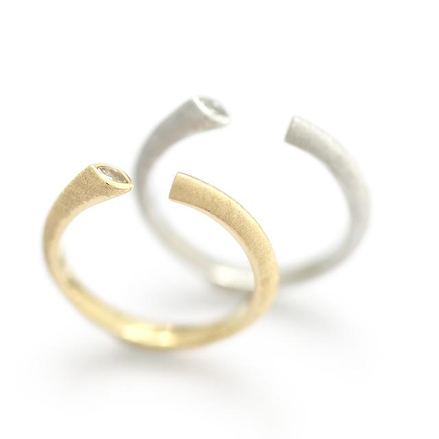 Kakeru[翔] - K18YG/ Pt900 Diamond Ring