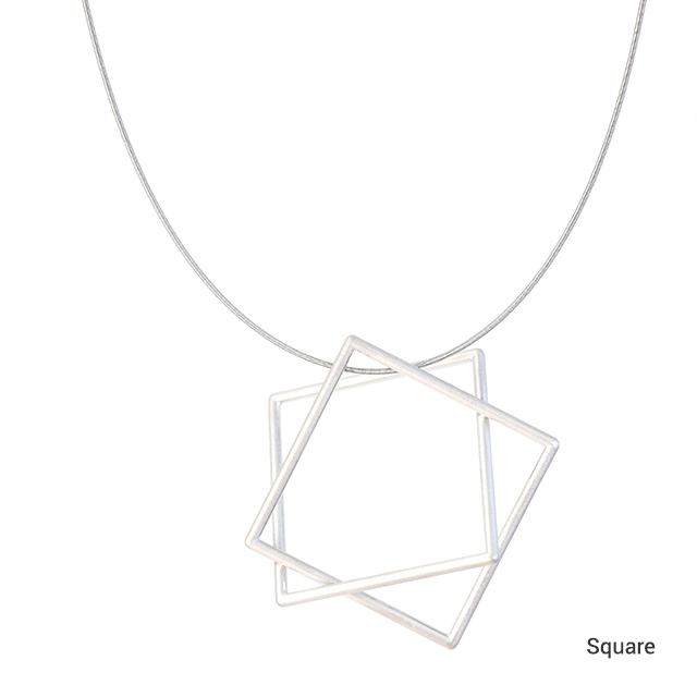 Surface[面と線] Necklace