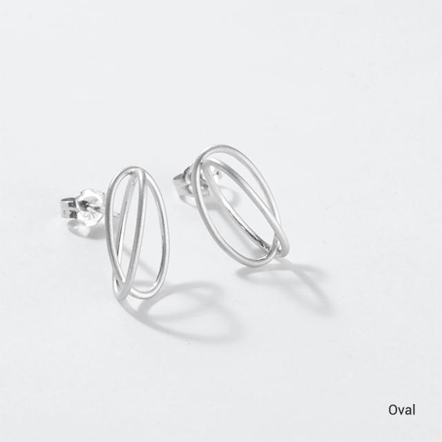 Surface[面と線] Earrings