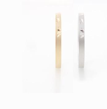 竹 Take リング 和彫り