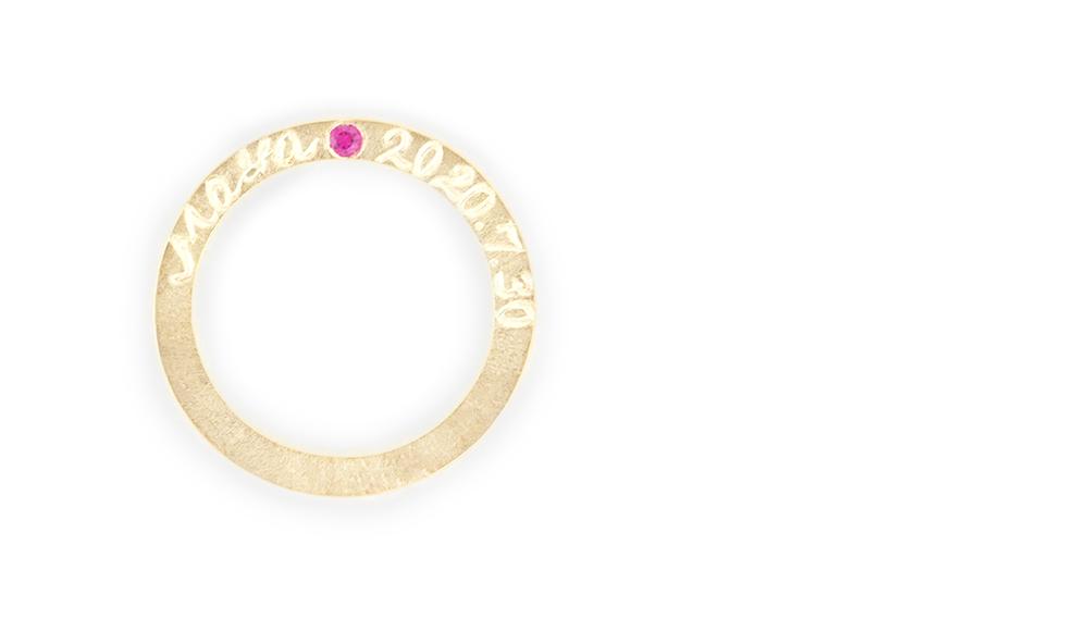 Anniversarry Pendant-Ring[アニバーサリーペンダント-リング]K18ペンダントリング シンコーストゥディオ SHINKO STUDIO