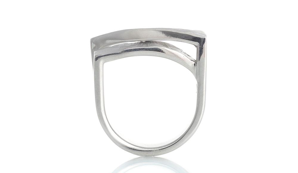 Haku[箔]SVダイヤモンドリング シンコーストゥディオ SHINKO STUDIO