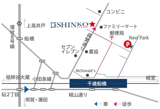 直営店地図