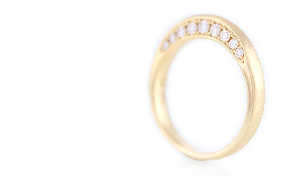 Isagi[潔]K18ダイヤモンドリング シンコーストゥディオ SHINKO STUDIO