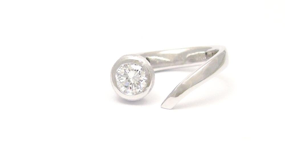 Pt900 ダイヤモンドリング リフォーム シンコーストゥディオ