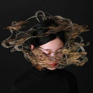 Chihiro hatano 2018年 『mystify』 ヘッドピース真鍮