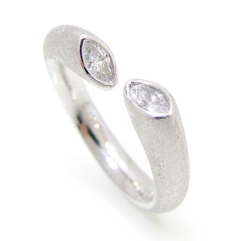ジュエリー K18WG ダイヤモンド オーダー & リフォーム シンコーストゥディオ