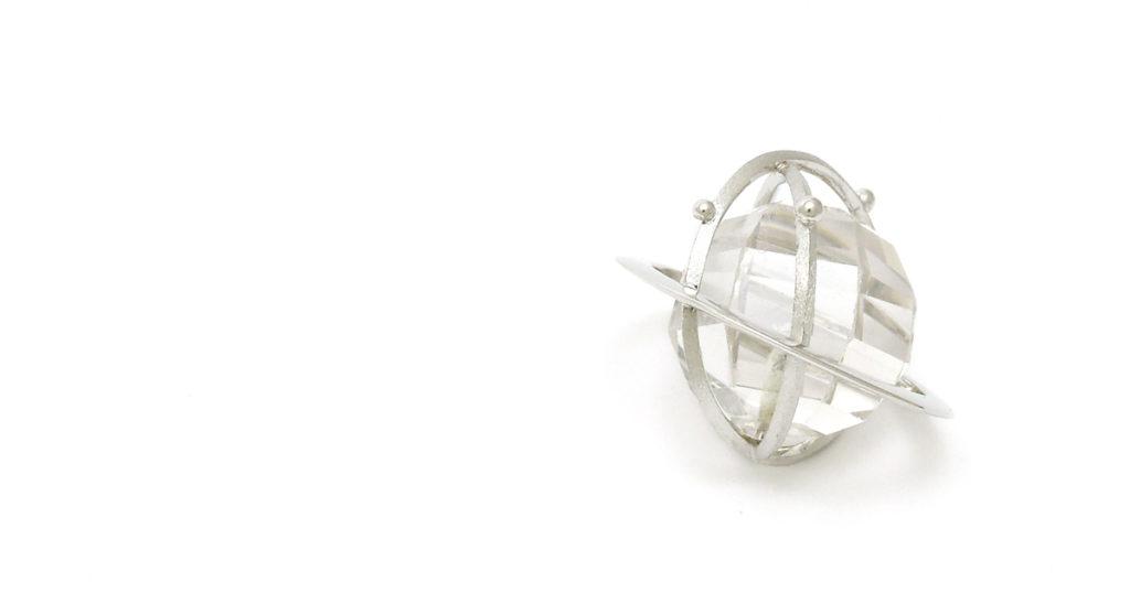 Pt900水晶ペンダント リフォーム シンコーストゥディオ shinko studio