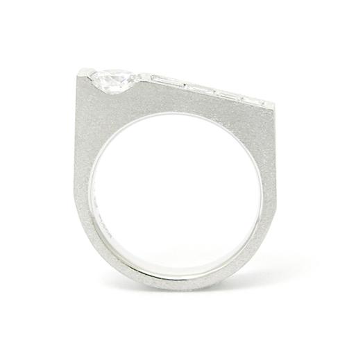Pt900ダイヤモンドリング オーダー リフォーム SHINKO STUDIO